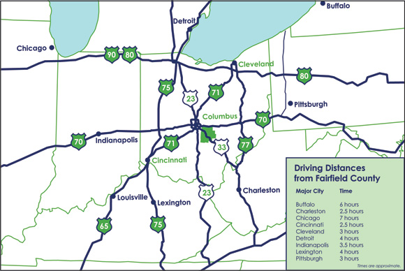 regional highways map